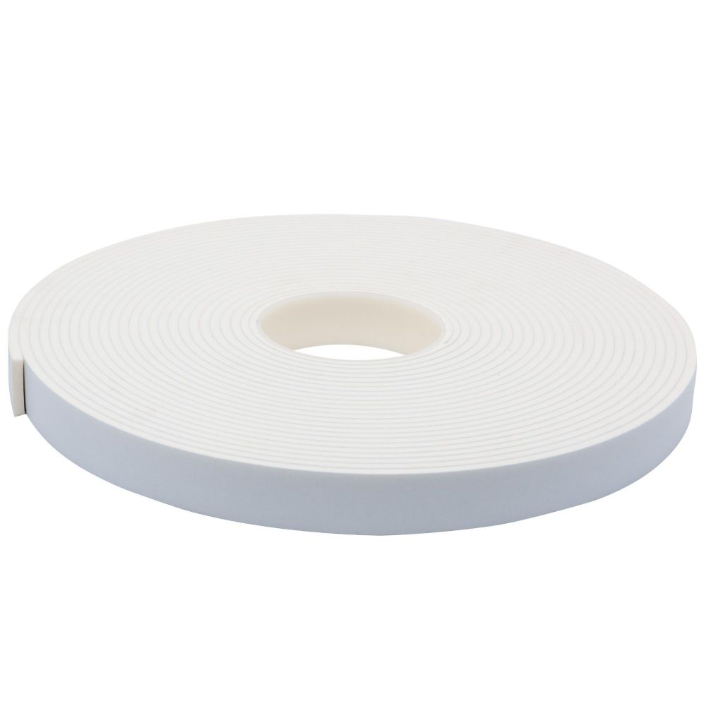 3154 White Single Sided Foam Tape